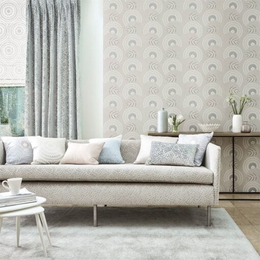 Louella Wallpaper from the Paloma Collection by Harlequin