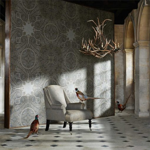 Elswick Paisley Wallpaper from the Kempshott Collection