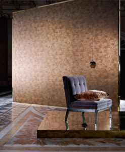 Metallo Wallpaper from the Phaedra Collection by Zophany
