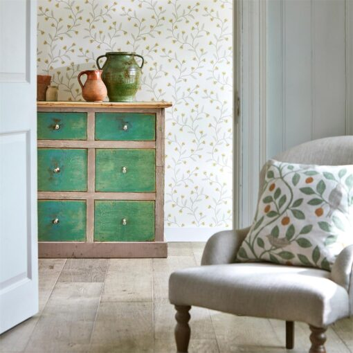 Everly Wallpaper from The Potting Room Collection by Harlequin Wallpaper