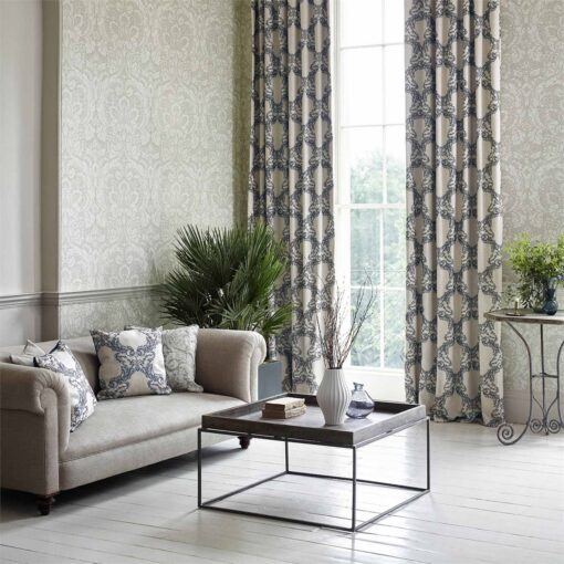 Courtney Wallpaper from the Chiswick Grove Collection by Sanderson Home