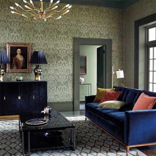 Brocatello Wallpaper from the Damask Wallpapers Collection by Zophany