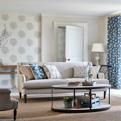 Bay Tree Wallpaper from The Potting Room Collection by Harlequin Wallpaper