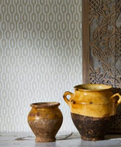 Hemp wallpaper from The Potting Room Collection by Harlequin Wallpaper