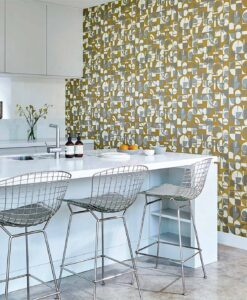 Segments wallpaper from the Entity Collection by Harlequin Wallpaper Australia