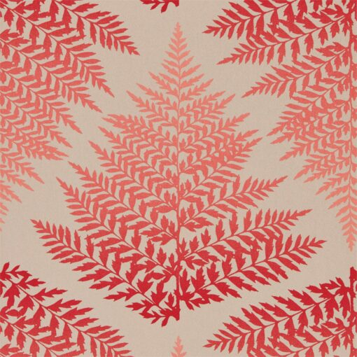 Filix Wallpaper from the Callista Collection by Harlequin Wallpaper Australia in Fire & Ruby
