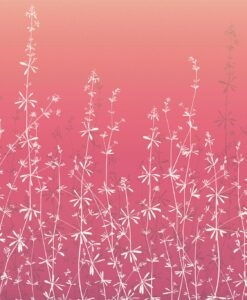Hortelano Wallpaper from the Callista Collection by Harlequin Wallpaper in Amethyst & Ruby