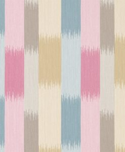 Utto wallpaper from the Tresillio Collection by Harlequin in Fuchsia, Ochre and Denim