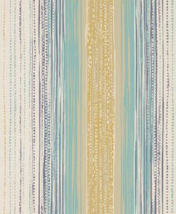 Tilapa wallpaper from the Tresilio collection by Harlequin in Seagrass and Coral