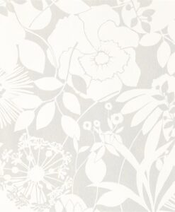 Coquette Wallpaper from the Standing Ovation Collection by Harlequin in Chalk