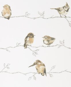 Persico Wallpaper from the Standing Ovation Collection by Harlequin in Neutral & Chalk