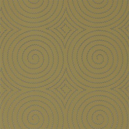 Sakura Wallpaper from the Momentum 04 Collection in Ochre