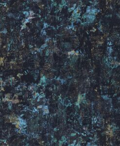 Graffiti wallpaper from the Definition Collection by Anthology in Chrysocolla