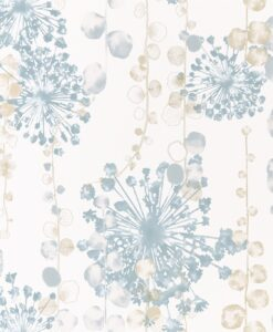 Moku Wallpaper from the Anthozoa Collection in Ocean & Sand