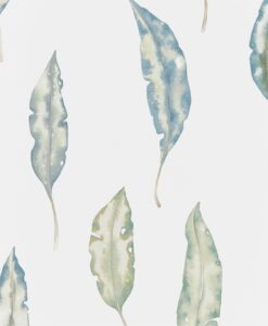Kinina Wallpaper from the Anthozoa Collection in Marine & Lime