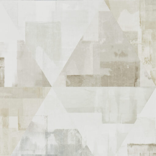 Geodesic Wallpaper from the Entity Collection in Taupe & Stone