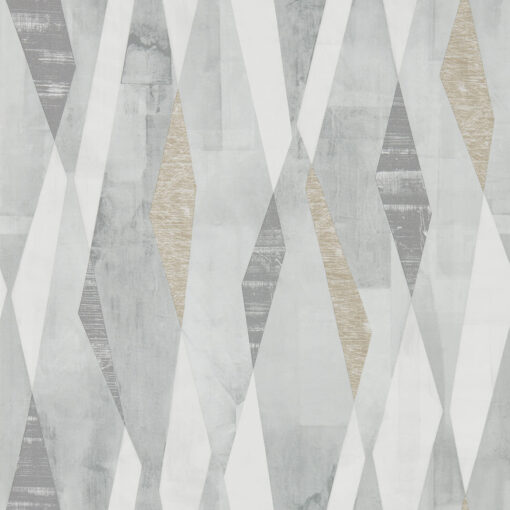 Vertices Wallpaper from the Entity Collection in in Slate & Concrete