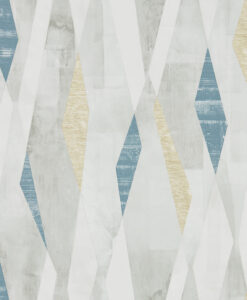 Vertices Wallpaper from the Entity Collection in in Ink & Gold