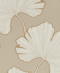 Azurea wallpaper from the Lucero Collection by Harlequin in Champagne