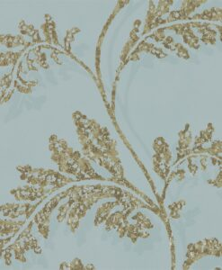 Lucero Wallpaper from the Lucero Collection by Harlequin in Topaz and Gilver