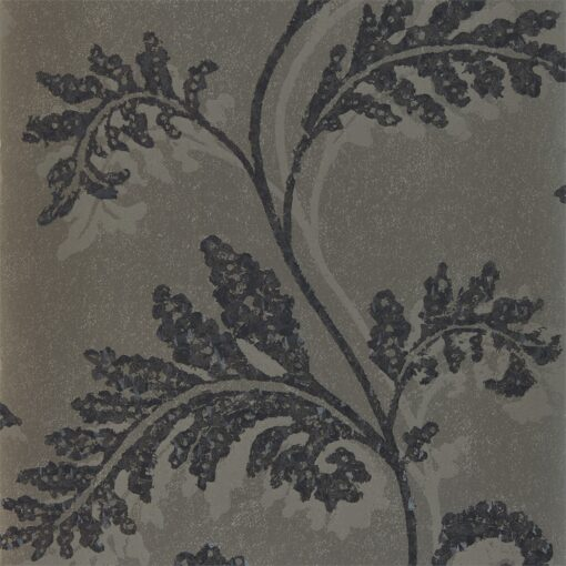 Lucero Wallpaper from the Lucero Collection by Harlequin in Champagne & Ebony