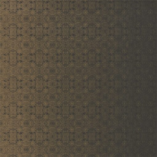Eminence Wallpaper from the Lucero Collection by Harlequin in Rich Bronze & Jet