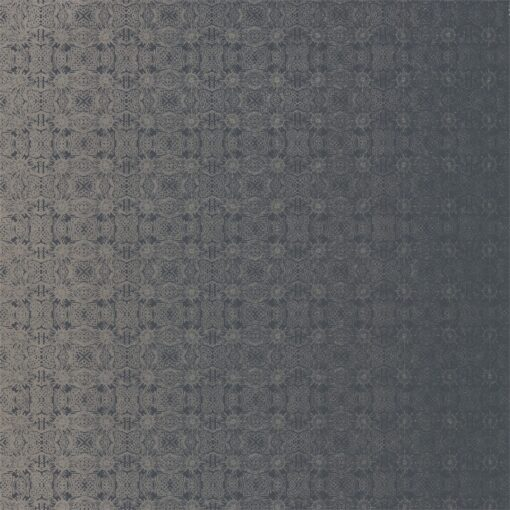 Eminence Wallpaper from the Lucero Collection by Harlequin in Silver & Ink