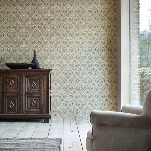 Pure Trellis Wallpaper from the Pure North Collection by Morris & Co.