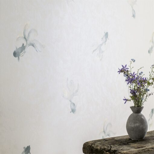 Fantail Goldfish Wallpaper from Waterperry Wallpapers by Sanderson Home