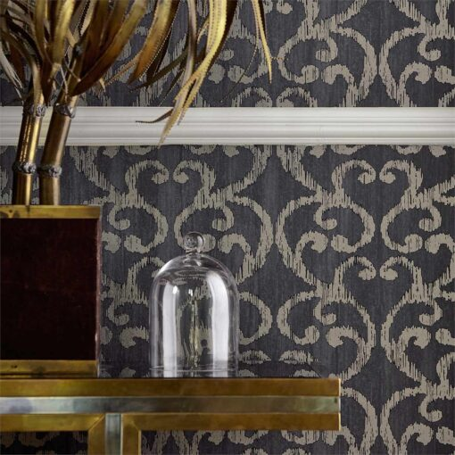 Baroc Wallpaper from the Lucero Collection by Harlequin