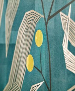 Close up of Entity Wallpaper from the Entity Collection by Harlequin Wallpaper