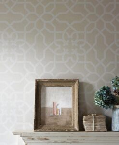 Mawton Wallpaper from the Chiswick Grove Collection by Sanderson