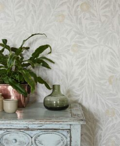 Orange Tree Wallpaper from the Chiswick Grove Collection by Sanderson Home