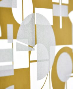 Segments wallpaper from the Entity Collection by Harlequin Wallpaper