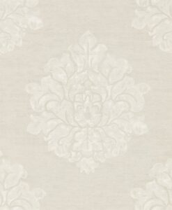 Laurie Wallpaper from Waterperry Wallpapers in Ivory