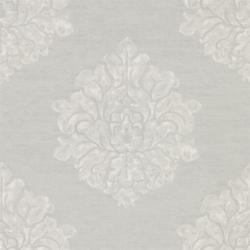 Laurie Wallpaper from Waterperry Wallpapers in Dove