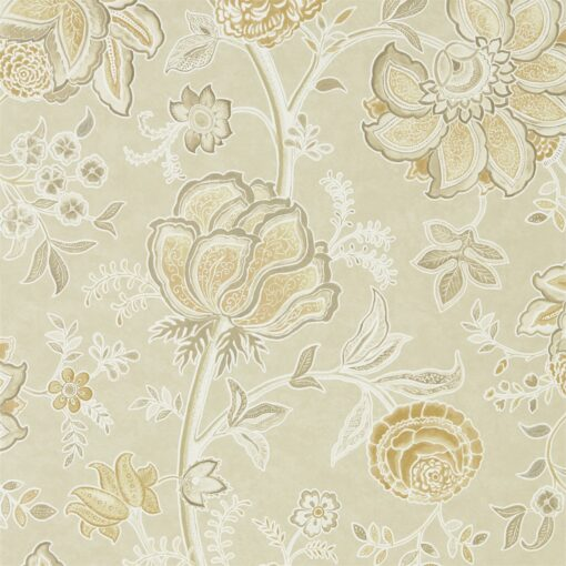 Shalimar Wallpaper from The Art of the Garden Collection in Linen & Sepia