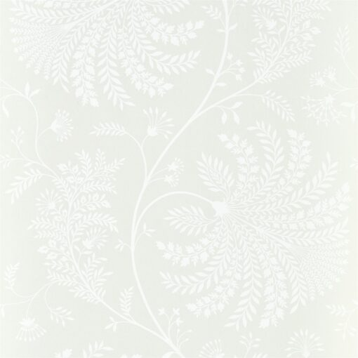 Mapperton Wallpaper from The Art of the Garden Collection in Chalk
