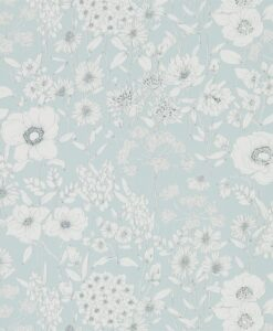 Maelee Wallpaper from The Potting Room Collection in Mineral