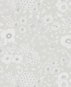 Maelee Wallpaper from The Potting Room Collection in Dove