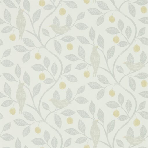 Damson Tree Wallpaper from The Potting Room Collection in Dijon & Mole