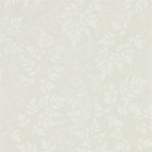 Spring Leaves Wallpaper from The Potting Room Collection in Flint