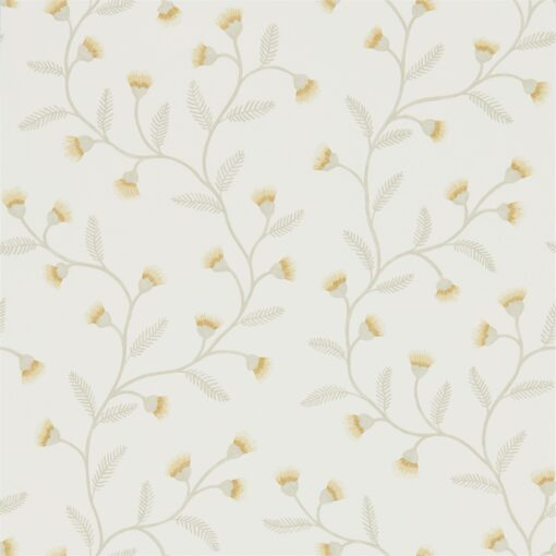 Everly Wallpaper from The Potting Room Collection in Barley