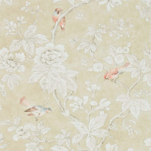 Chiswick Grove wallpaper by Sanderson Home in Gold