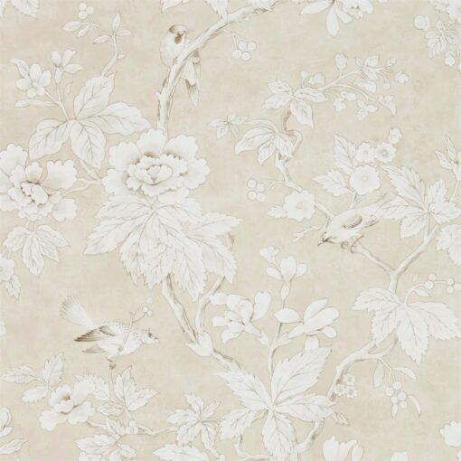 Chiswick Grove wallpaper by Sanderson Home in Linen