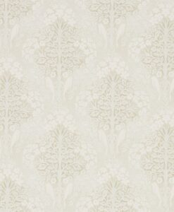 Lerena Wallpaper from the Chiswick Grove Collection by Sanderson Home in Ivory