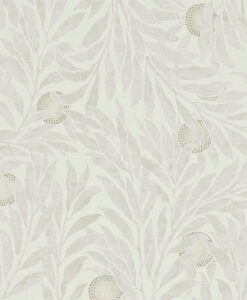 Orange Tree Wallpaper from the Chiswick Grove Collection by Sanderson Home in Stone
