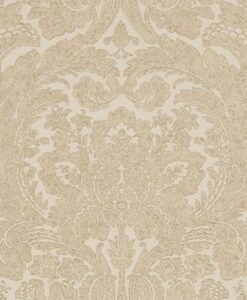 Courtney Wallpaper from the Chiswick Grove Collection by Sanderson Home in Gold