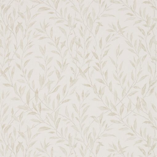 Osier Wallpaper from the Chiswick Grove collection by Sanderson Home in Ivory and Stone