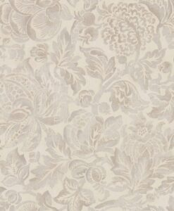 Thackeray Wallpaper from the Chiswick Grove Collection by Sanderson in Fig